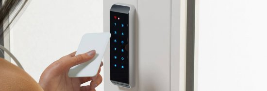 Door Access Control Entry Devices 550x187 - Access Control Knowledge
