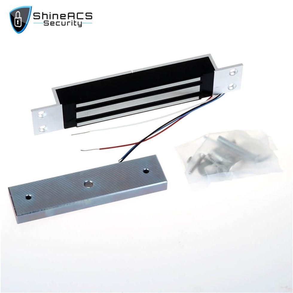 280kg Single Door Mortise Magnetic Lock SL M280M 1 980x980 - 280kg Single Door Mortise Magnetic Lock