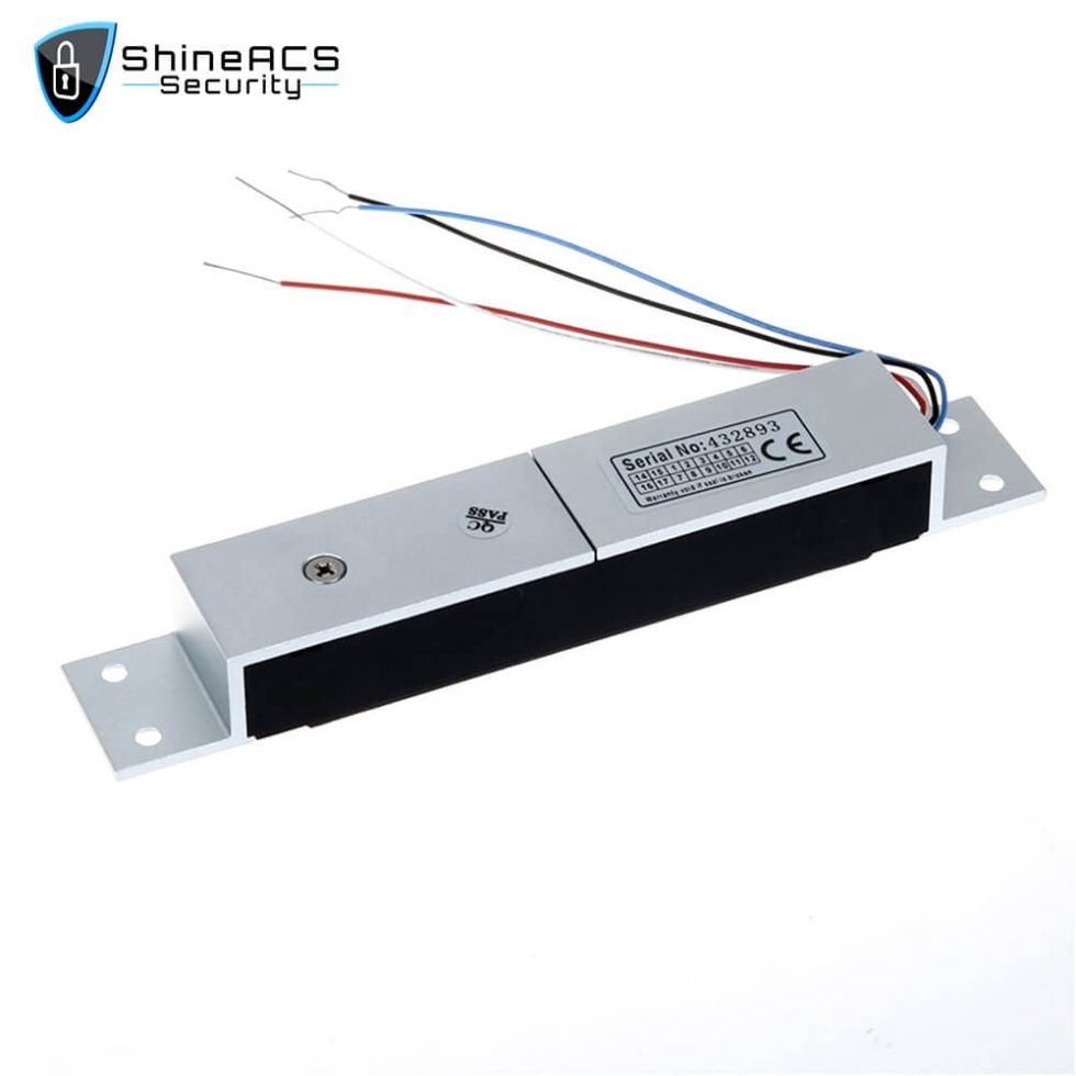 280kg Single Door Mortise Magnetic Lock SL M280M 3 980x980 - 280kg Single Door Mortise Magnetic Lock