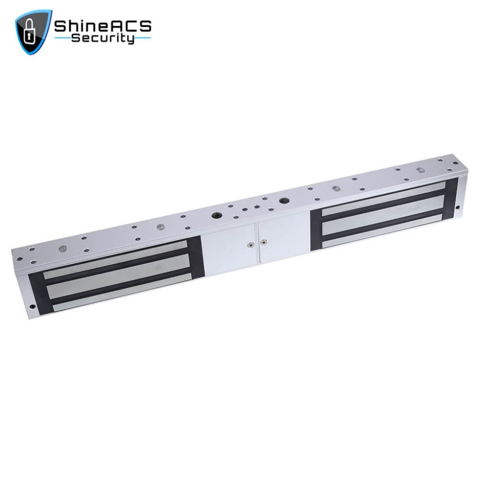 500kg Double Door Magnetic Lock SL M500D 2 980x980 - 500kg Double Door Magnetic Lock