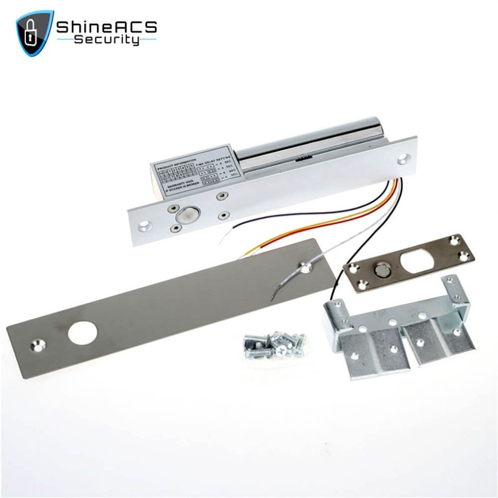 Electric Bolt lock With Door Detective Signal SL E200SL 1 980x980 - Electric Bolt lock With Door Detective Signal