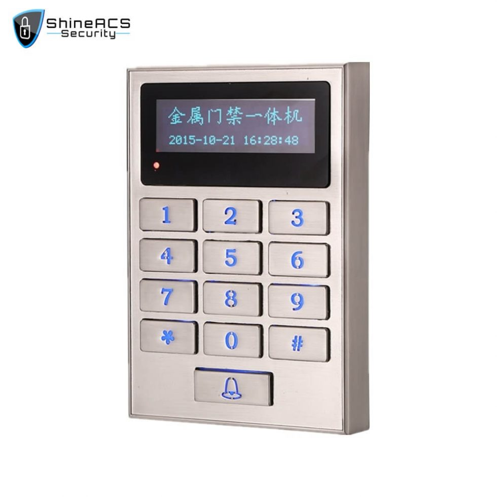 Multi function Card Reader SS M01KW 1 980x980 - Access Control Standalone Device SS-M01KW
