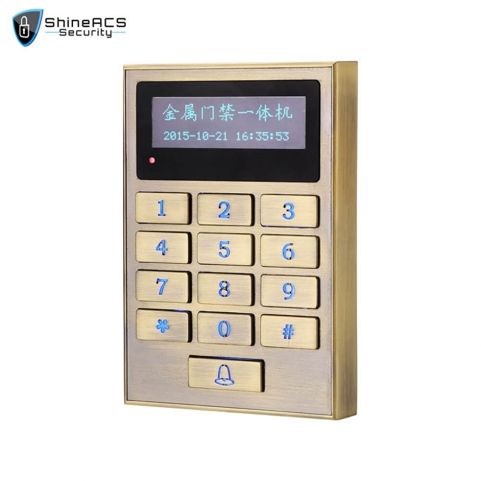 Multi function Card Reader SS M01KW 3 980x980 - Access Control Standalone Device SS-M01KW