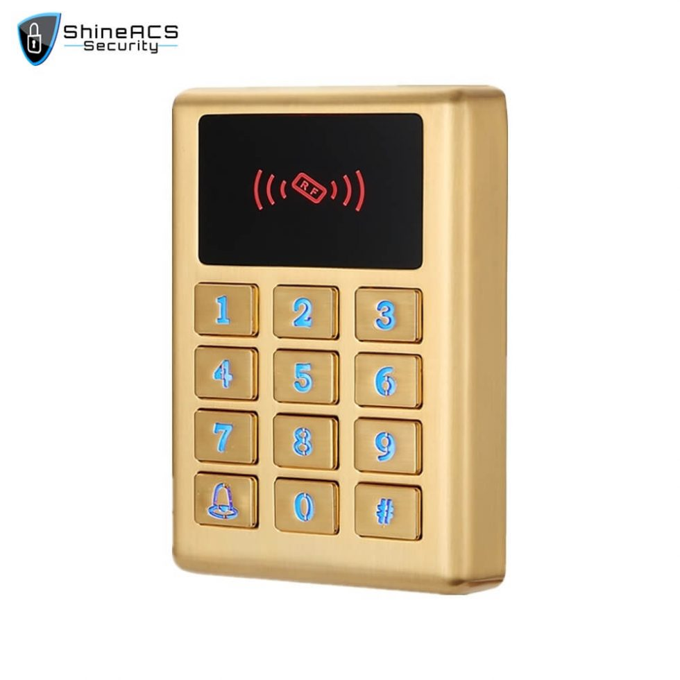 Waterproof Metal Access Control Card Reader SS M02KW 1 980x980 - Access Ccontrol Standalone device SS-M02KW