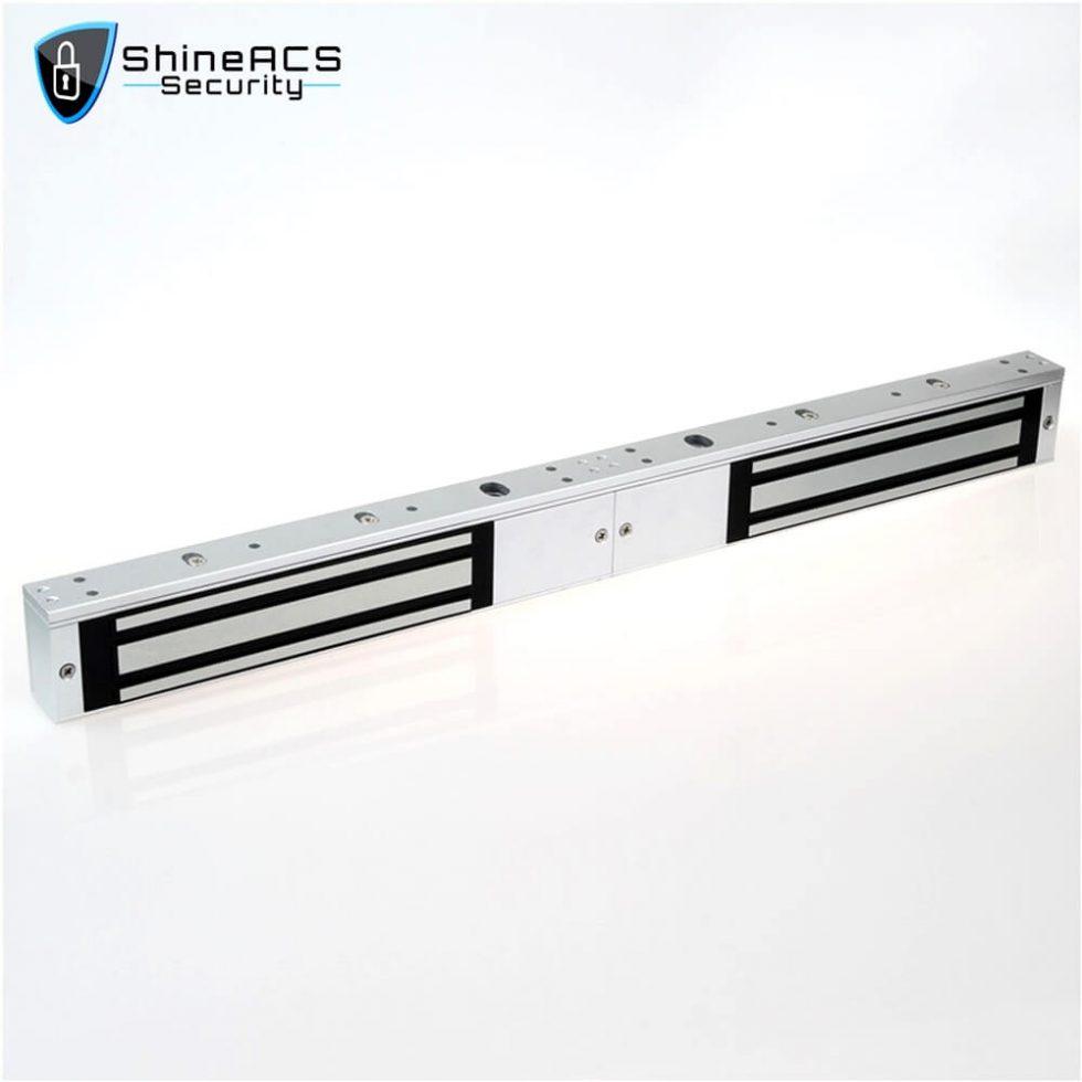 280kg Double Door Magnetic Lock SL M280D 2 980x980 - 280kg Electromagnetic lock for glass door SL-M280D