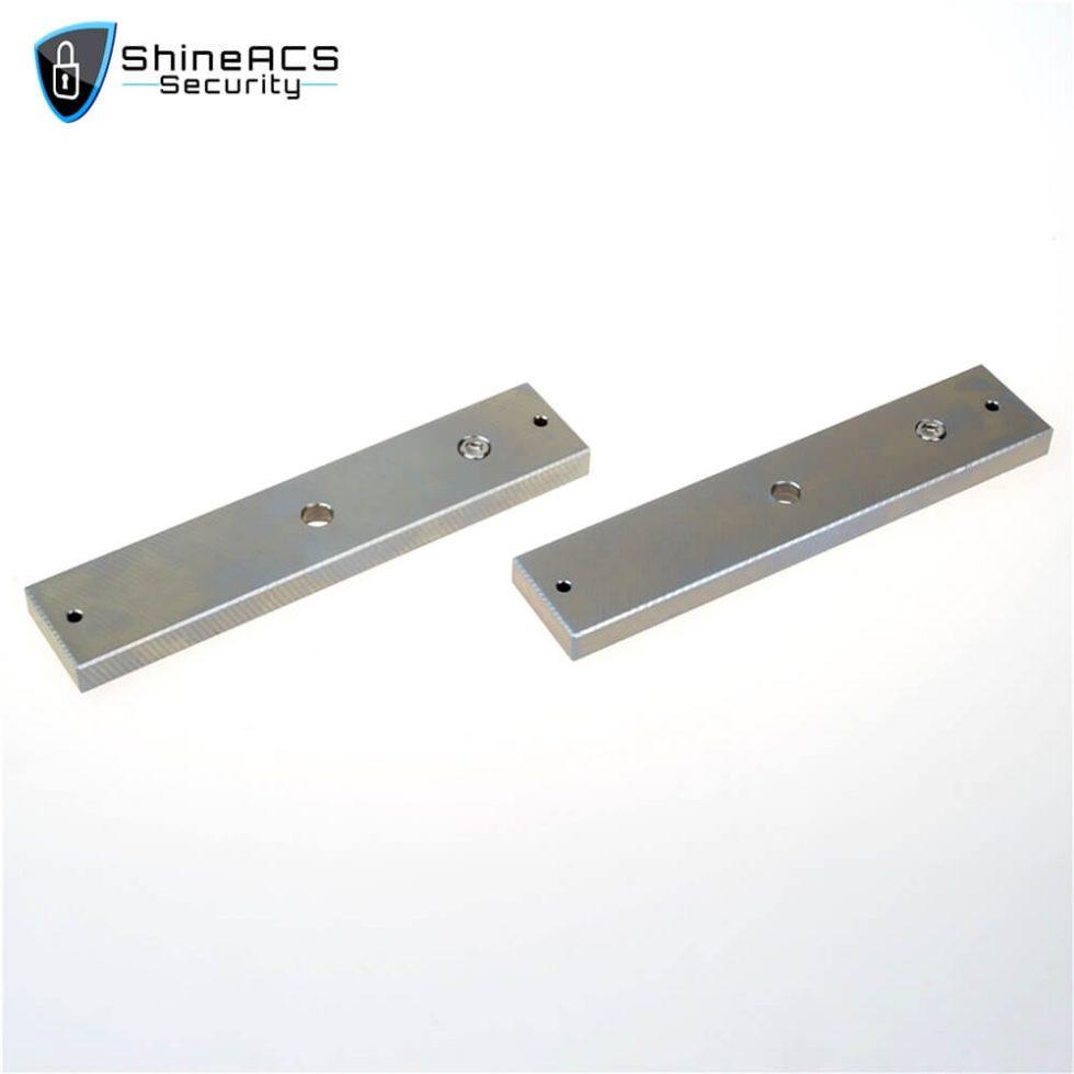 280kg Double Door Magnetic Lock SL M280D 4 980x980 - 280kg Electromagnetic lock for glass door SL-M280D