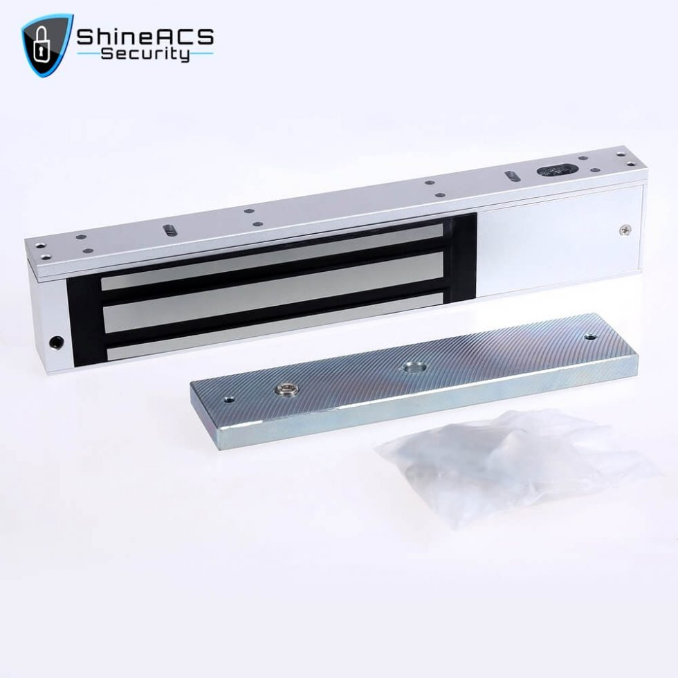 380kg Tek Kapı Manyetik Kilit SL M380 1 980x980 - Kapılar için elektromanyetik kilitler SL-M380S