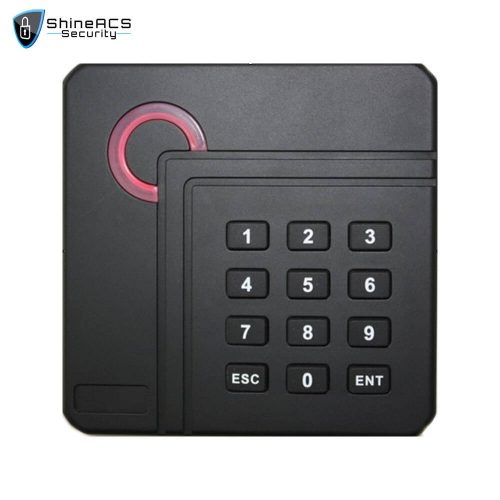 Access Control Proximity Card Reader SR 04 1 500x500 - Access Control 125KHz/13.56MHz Card Reader SR-04