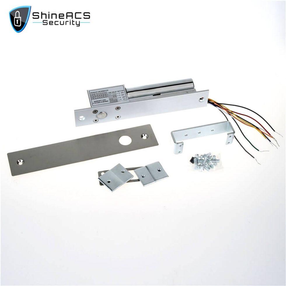 Electric Bolt Lock Door And Lock Cylinder Signal SL E200SLD 1 980x980 - Electric bolt lock installation on glass door SL-E200SLD