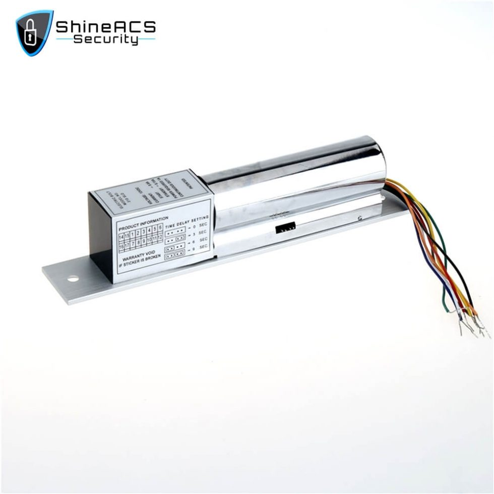 Electric Bolt Lock Door And Lock Cylinder Signal SL E200SLD 2 980x980 - Electric bolt lock installation on glass door SL-E200SLD