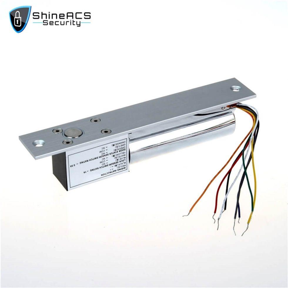 Electric Bolt Lock Door And Lock Cylinder Signal SL E200SLD 3 980x980 - Electric bolt lock installation on glass door SL-E200SLD