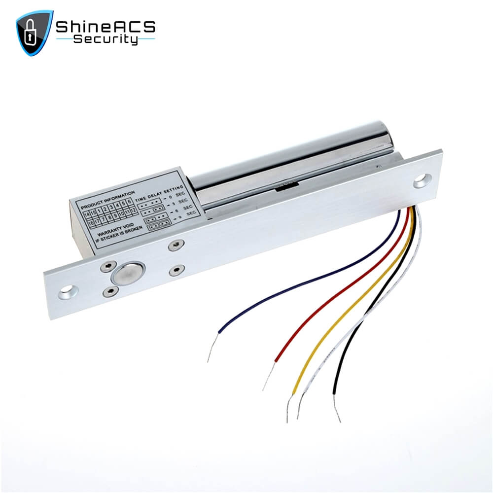 Electric Bolt lock With Door Detective Signal SL E200SL 2 - ShineACS Products