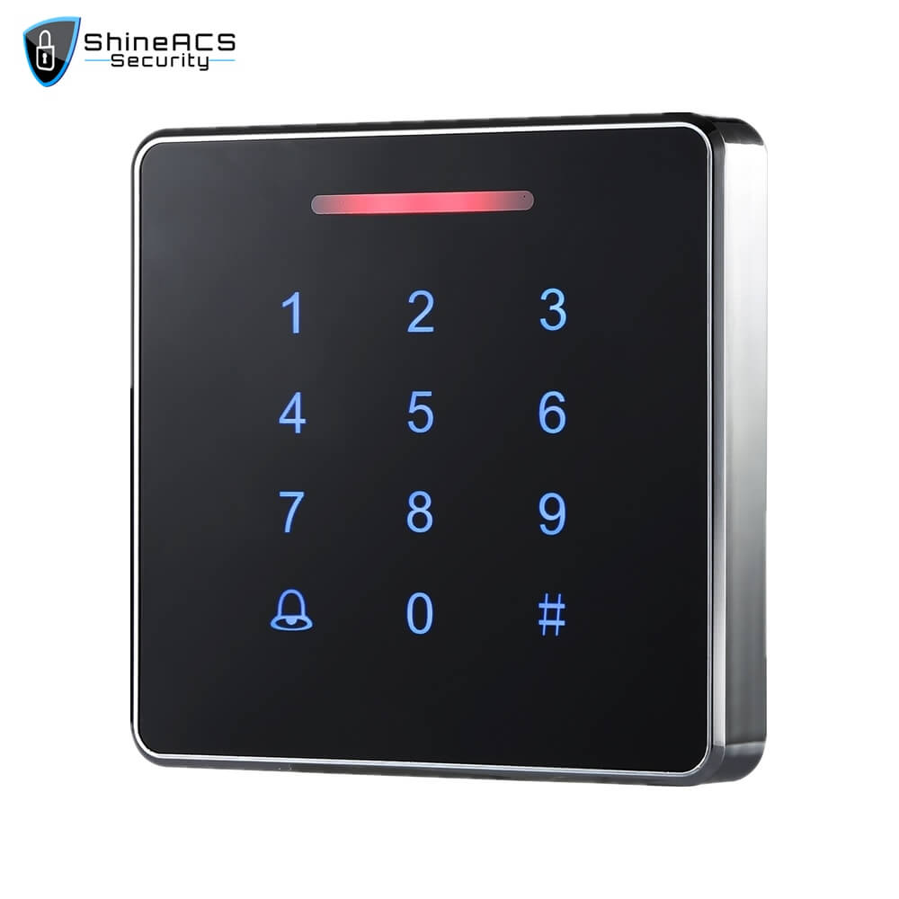 Metal Touch Access Control Standalone device SS K86TK 1 - ShineACS Products