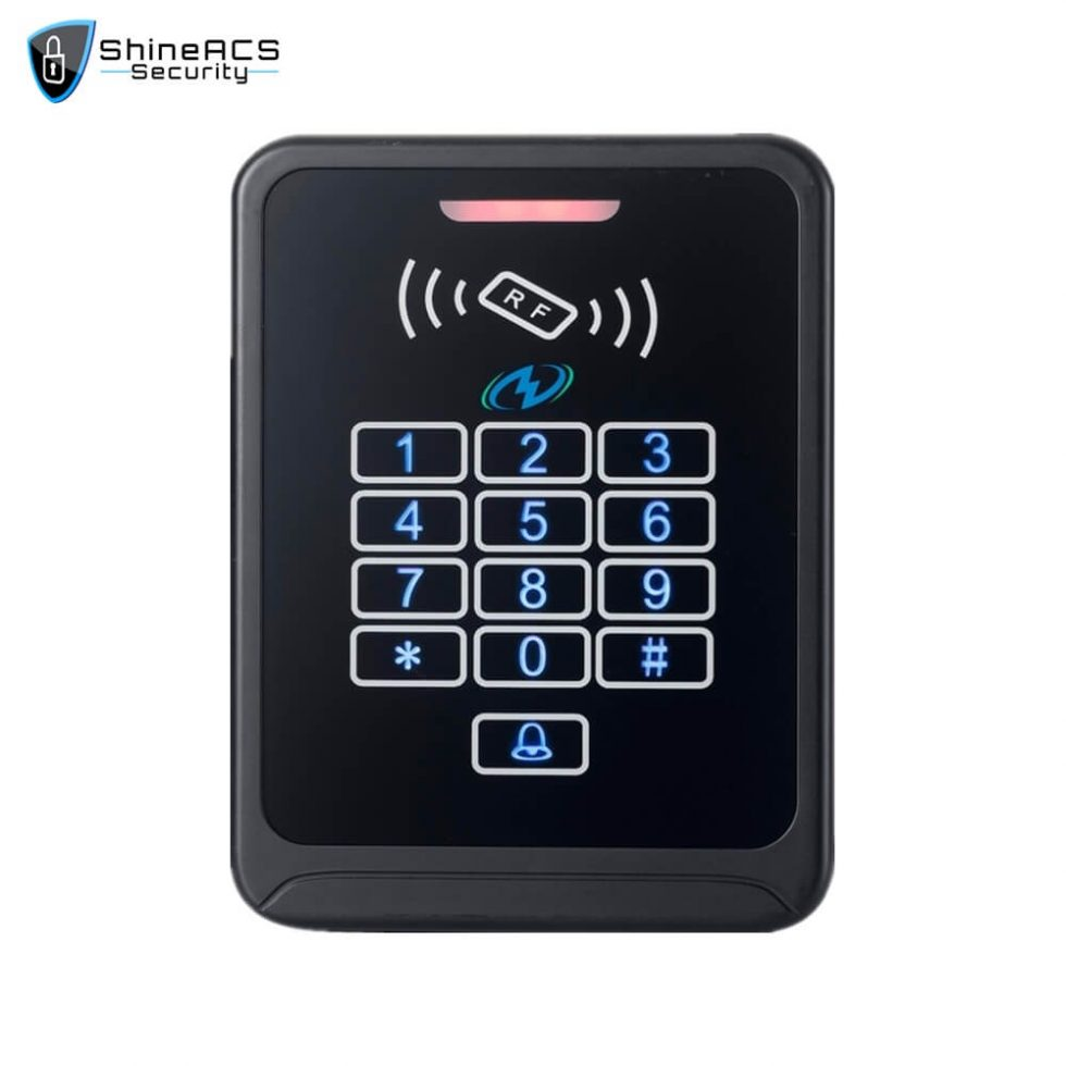 Touch Access Control Standalone Device SS K08TK 1 980x980 - Touch Access Control Standalone Device SS-K08TK