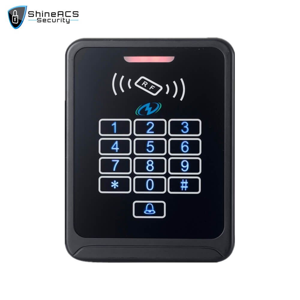 Touch Access Control Standalone Device SS K08TK 1 - ShineACS Products