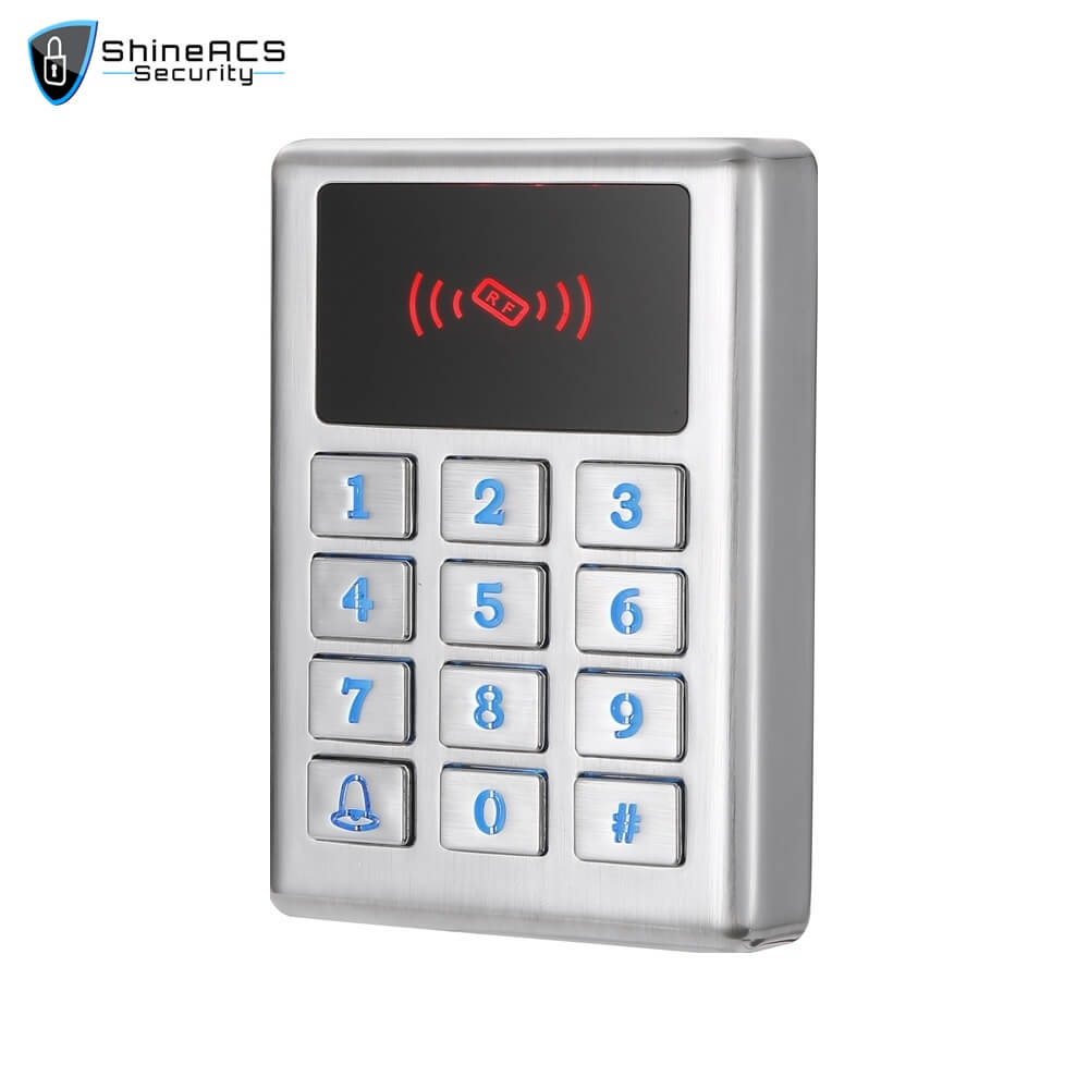 Waterproof Metal Access Control Card Reader SS M02KW 2 - ShineACS Products