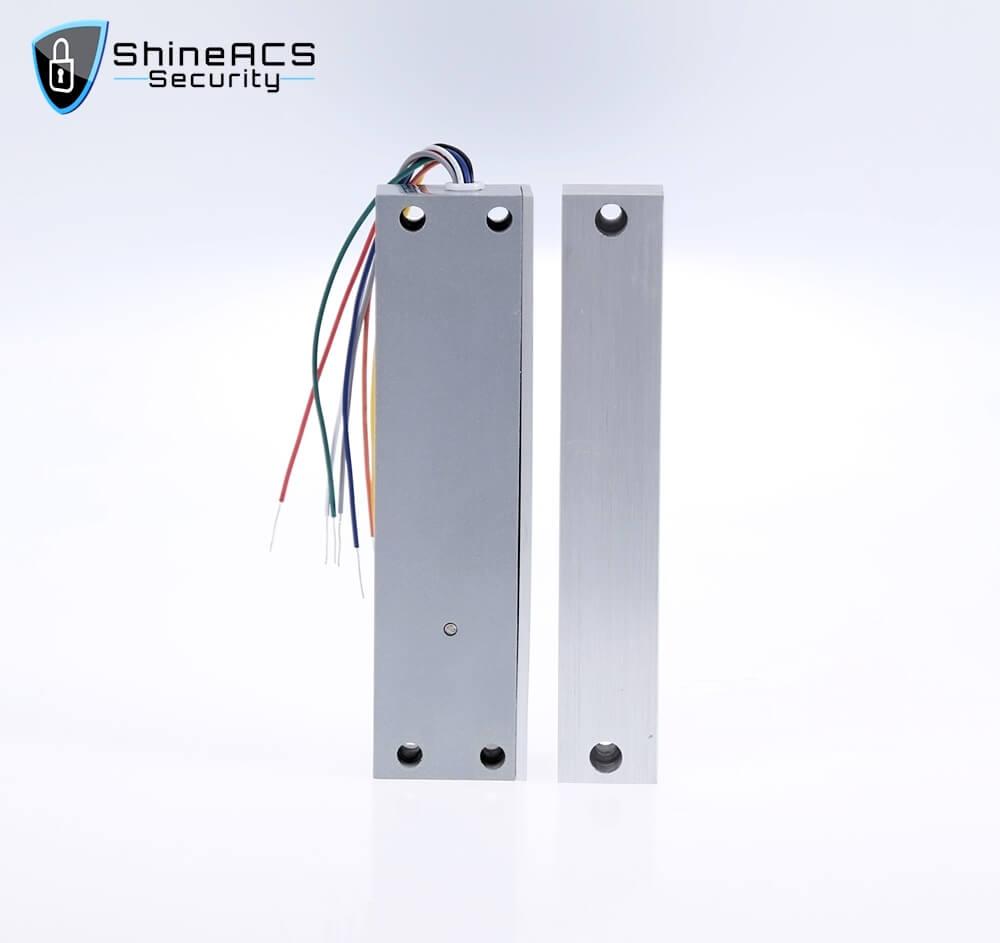 Verrou électrique à verrou pour porte vitrée sans cadre SL-E151SLD   Sécurité ShineACS