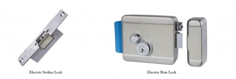 electric rim lock and electric strike lock 480x161 - ShineACS Access Control Service