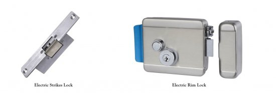 electric rim lock and electric strike lock 550x185 - Blog
