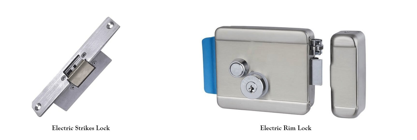 electric rim lock and electric strike lock - Why electric rim lock and electric strike lock are not suggested to use on access system?