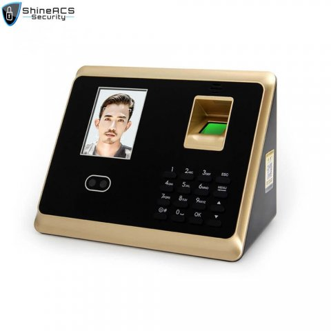 Face and fingerprint time attendance device ST-F007 (1)