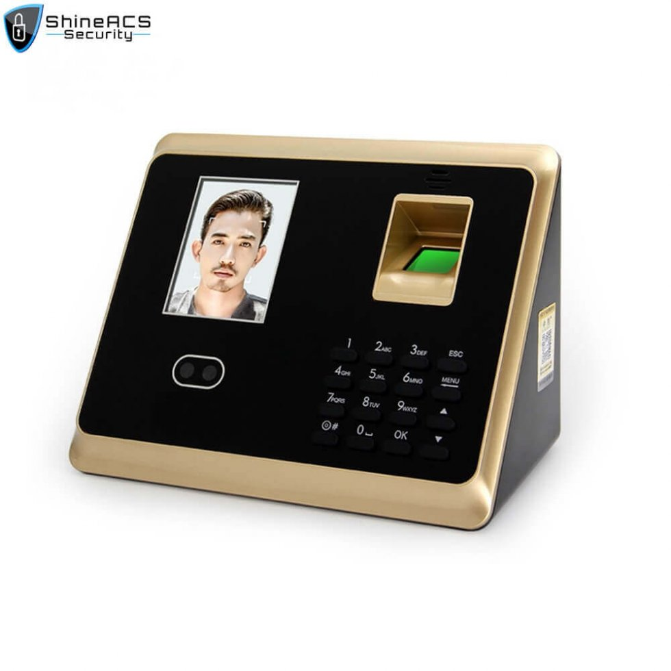 Face and fingerprint time attendance device ST F007 1 980x980 - Face/fingerprint Time Attendance and Access Control terminal ST-F007