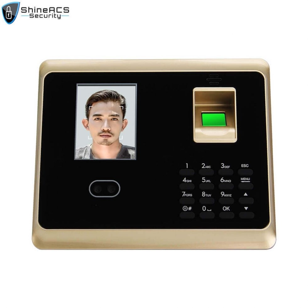 Face and fingerprint time attendance device ST F007 2 980x980 - Face/fingerprint Time Attendance and Access Control terminal ST-F007