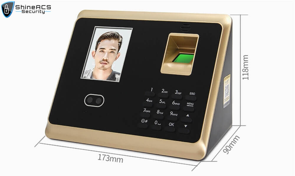 Face and fingerprint time attendance device ST F007 SEPC - Face/fingerprint Time Attendance and Access Control terminal ST-F007