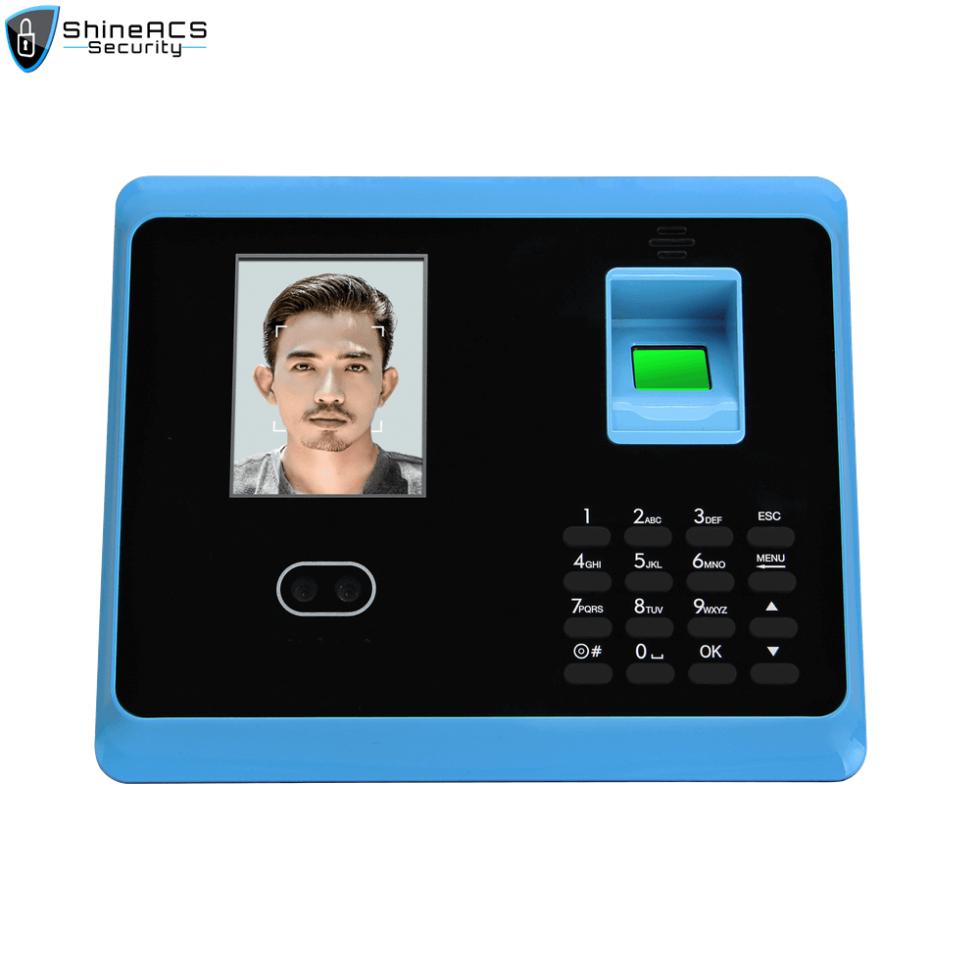 FaceFingerprint time attendance device ST F005 1 980x980 - Time Attendance Management Fingerprint Device ST-F005(WIFI Optional)