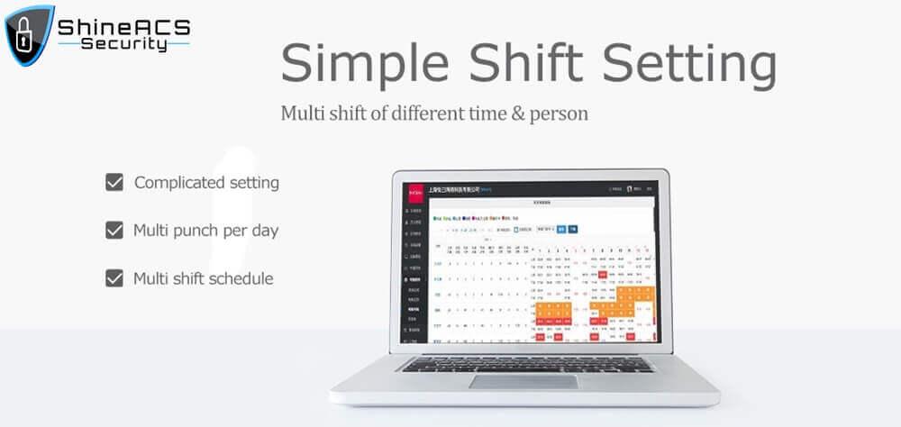 FaceFingerprint time attendance device ST F005 4 - Time Attendance Management Fingerprint Device ST-F005(WIFI Optional)