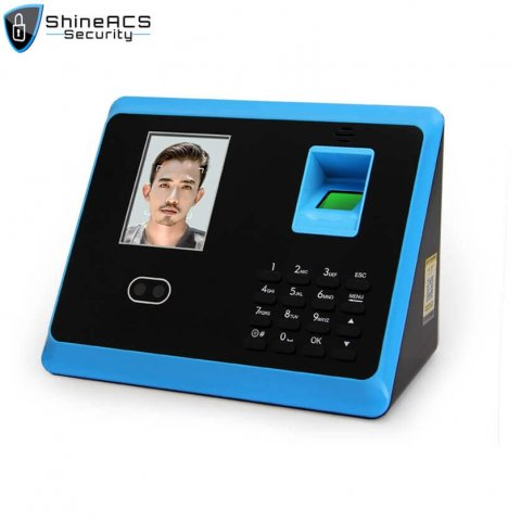 Face+Fingerprint time attendance device ST-F005 (5)