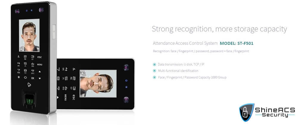 Time Attendance device ST F501 Strong recognition - Access control & time attendance system buyer guides