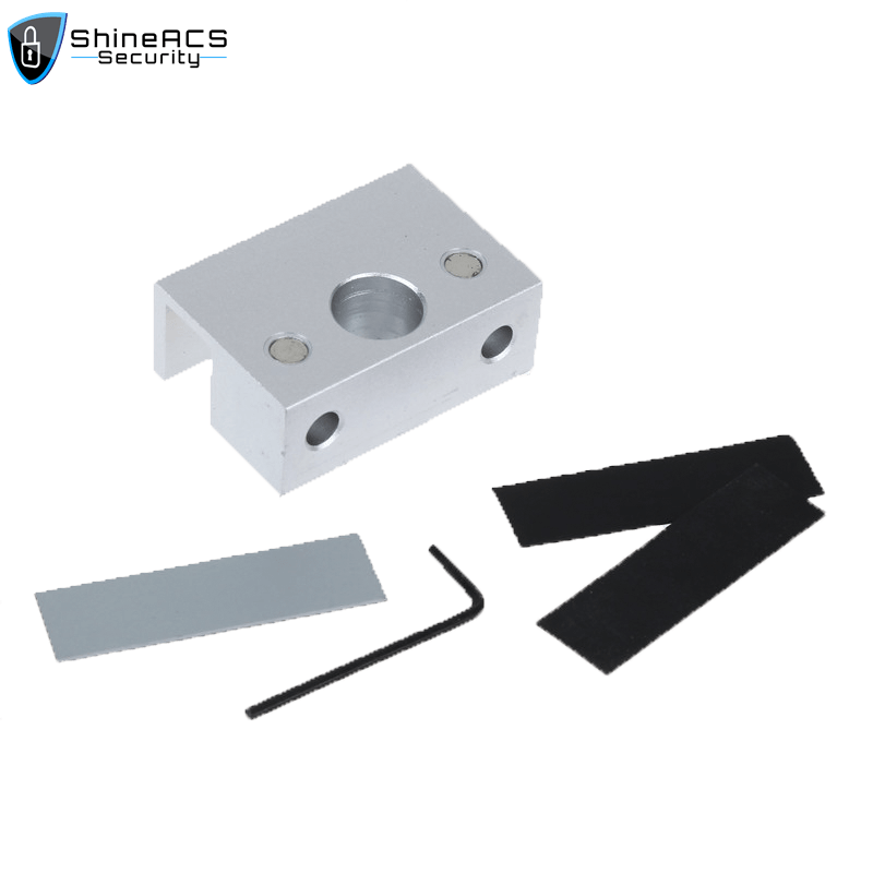 SL B100 1 - Electric Deadbolt Lock Bracket for Glass Door