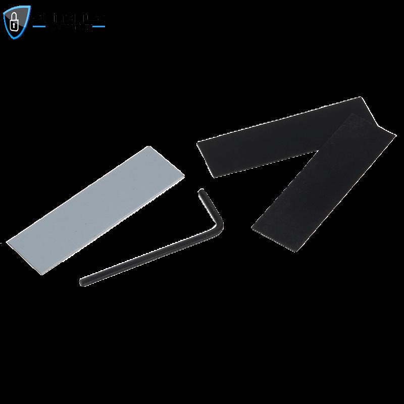 SL B100 2 - Electric Deadbolt Lock Bracket for Glass Door