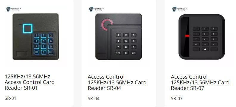 ShineACS rfid card reader access control device - Door access control system configuration Guide