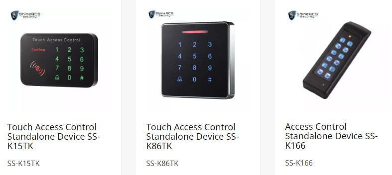 tek başına erişim kontrol kartı okuyucu - Kapı erişim kontrol sistemi yapılandırma Kılavuzu