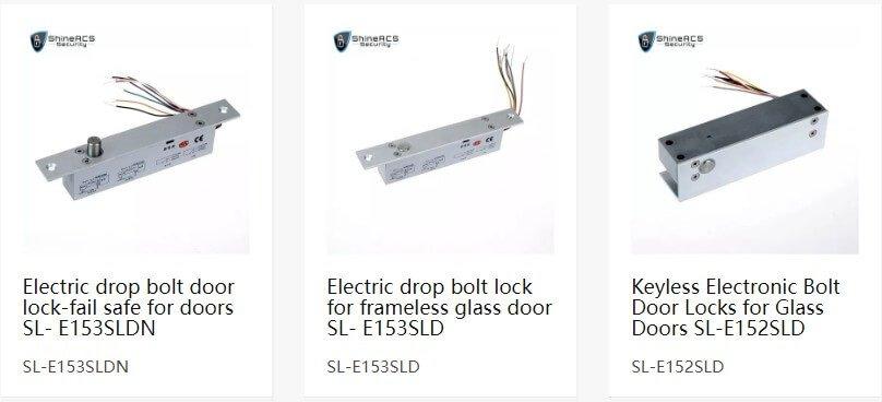 Çok telli elektrik damla civata kilit - Kapı erişim kontrol sistemi için elektrikli cıvata kilitleri nasıl seçilir?