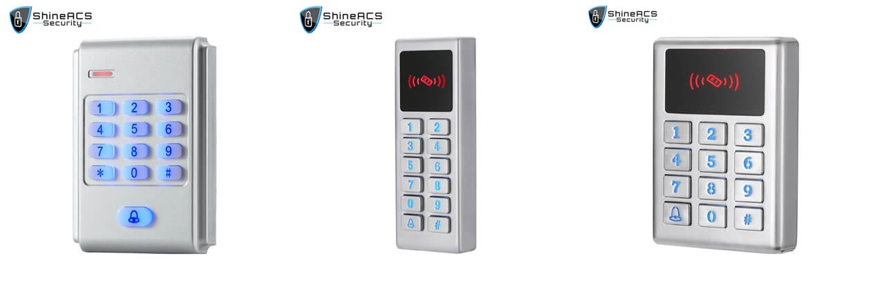 keypad reader access control - Choosing the right types of access control readers